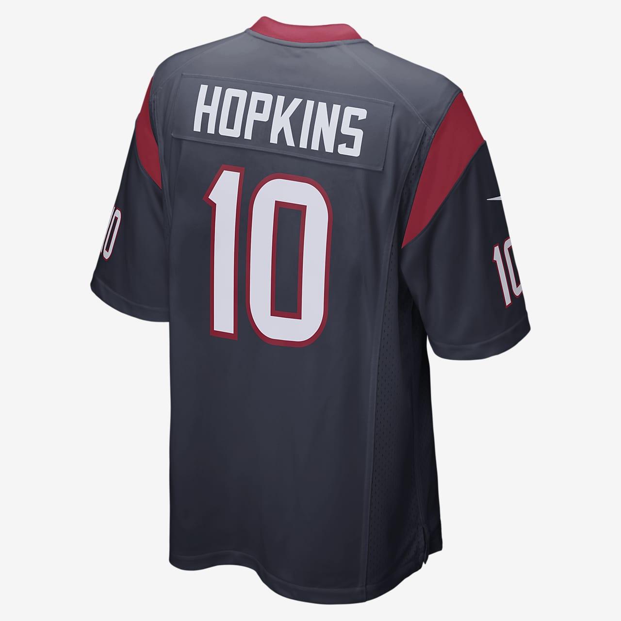 NFL Houston Texans (DeAndre Hopkins) Men's American Football Home Game Jersey
