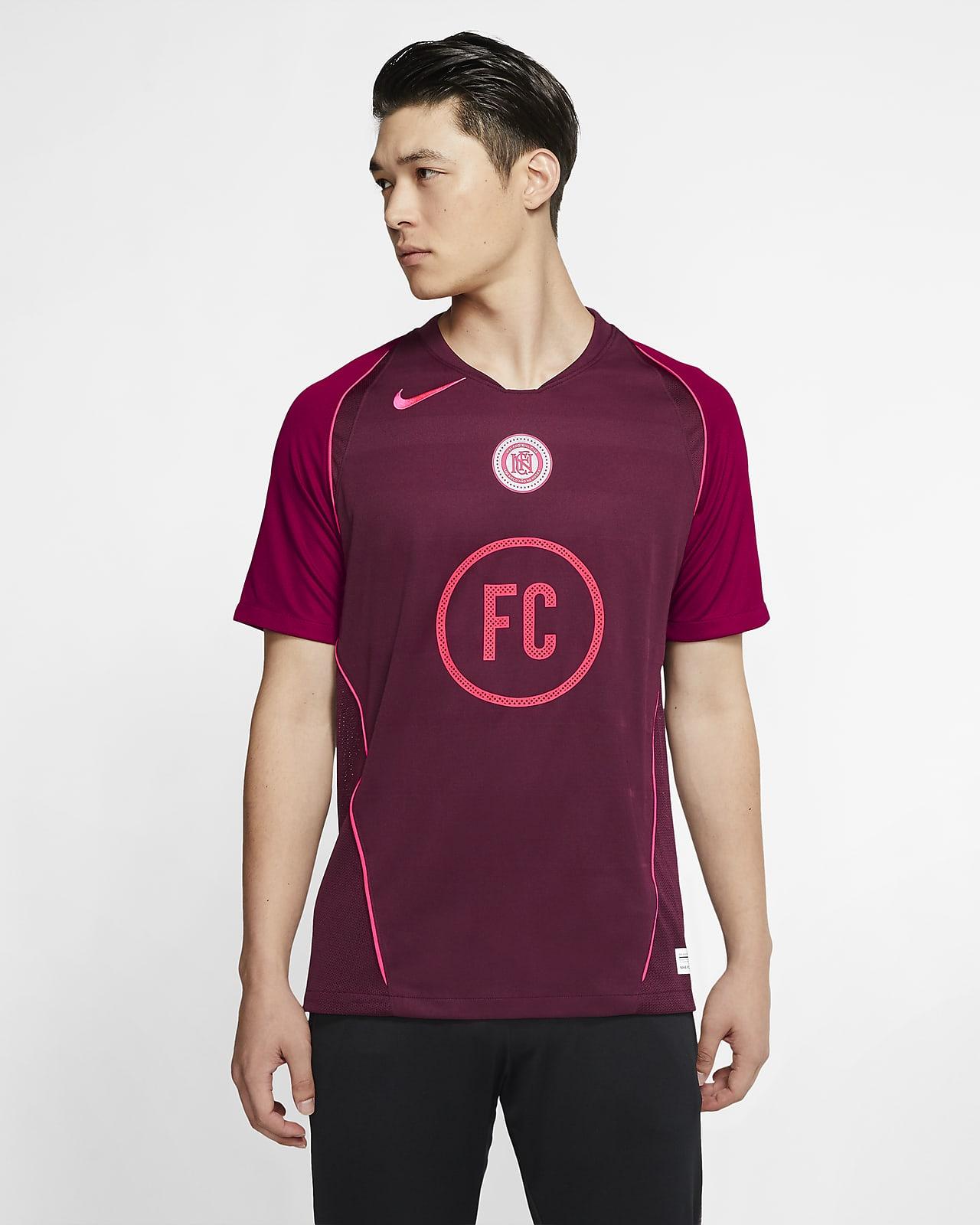 Nike F.C. Home Kurzarm-Fußballtrikot für Herren