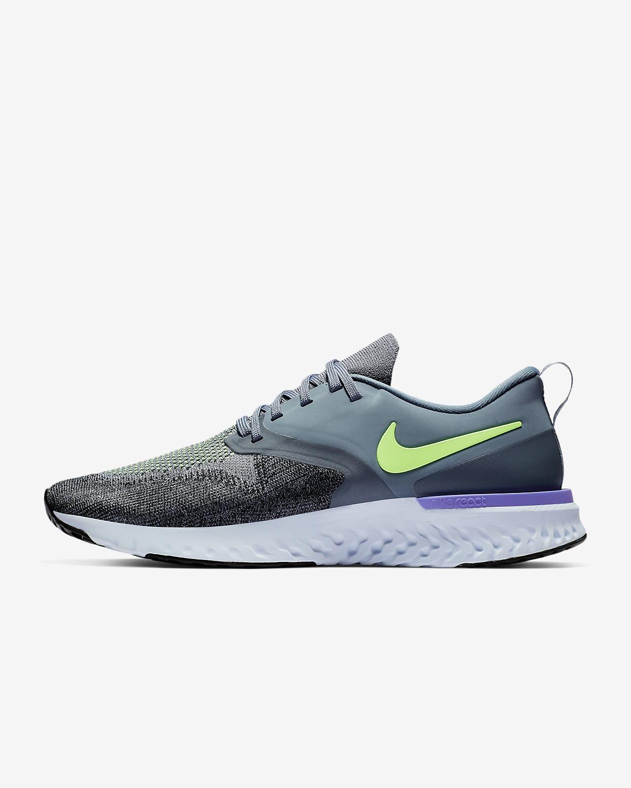 campana Ánimo elevación  Nike Odyssey React Flyknit 2 Men's Running Shoe. Nike ID