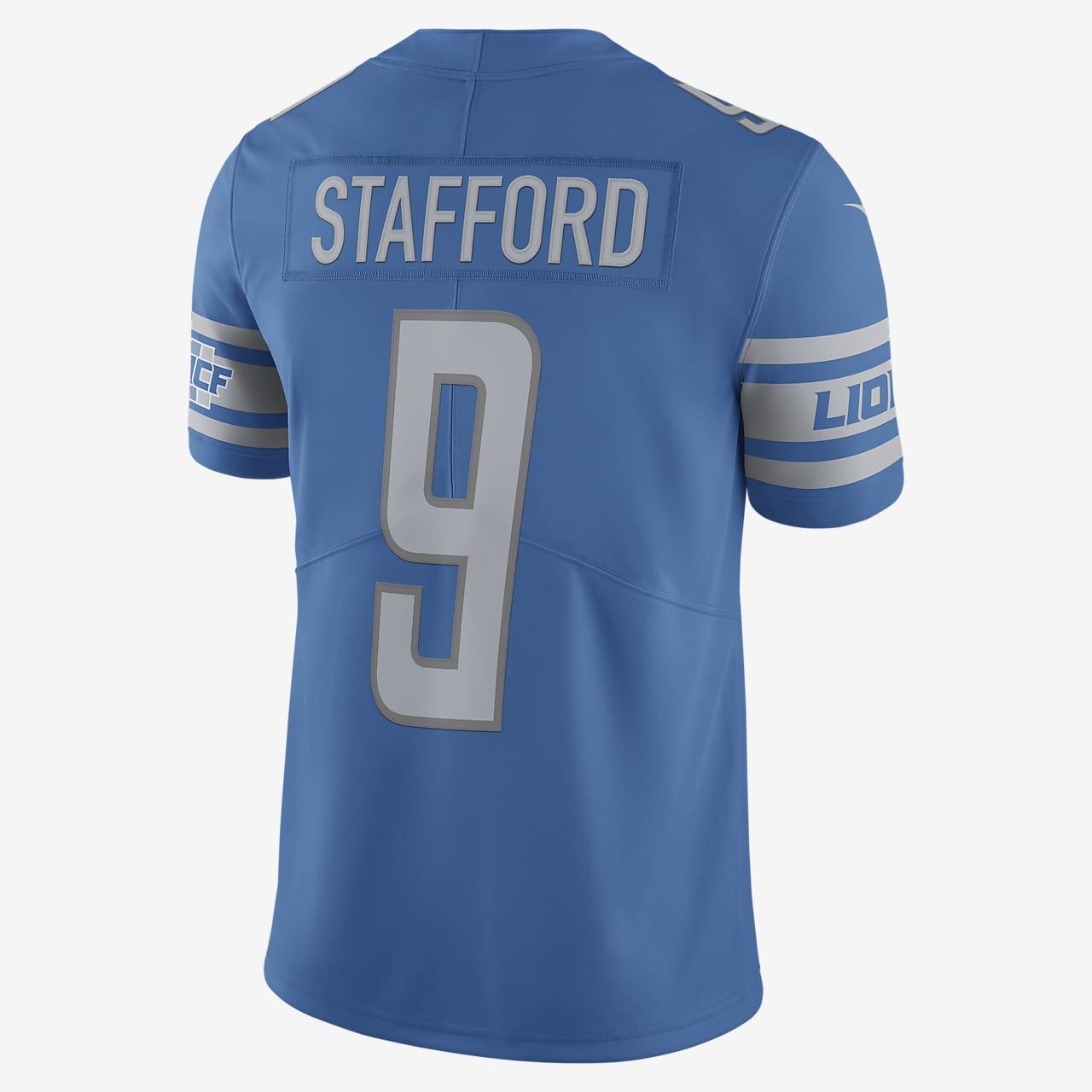 Camiseta De Fútbol Americano Limited Vapor Untouchable Para Hombre Nfl Detroit Lions Matthew Stafford Nike Com