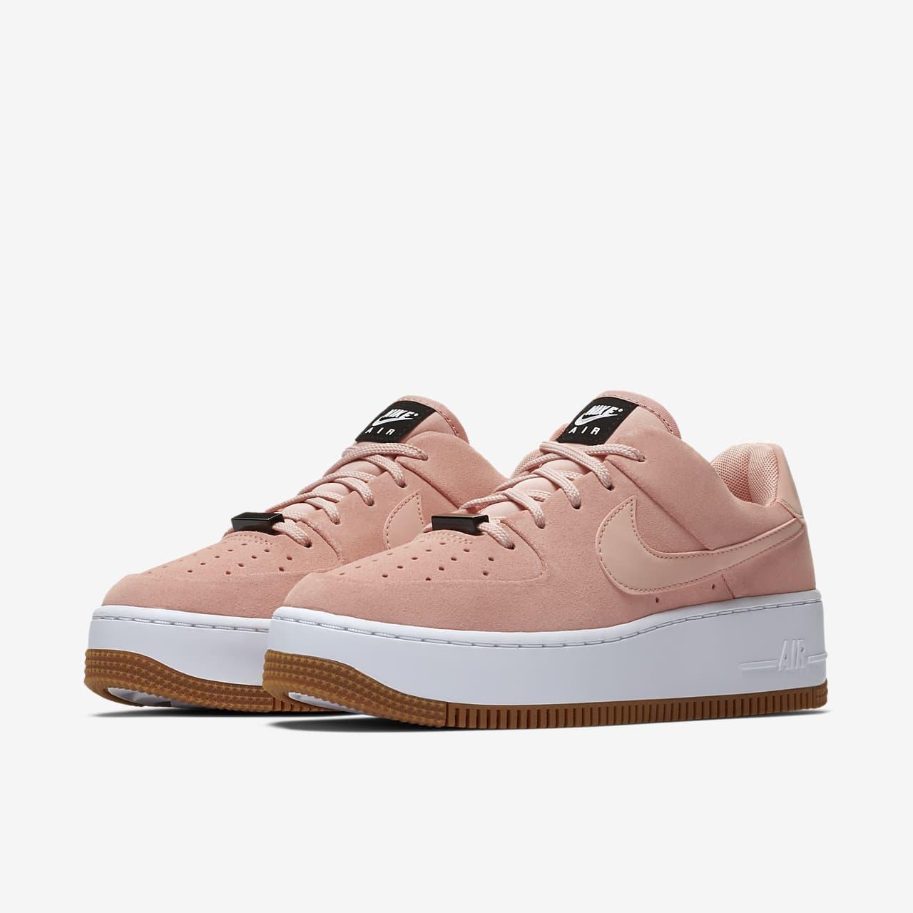 nike air force one sage low pink