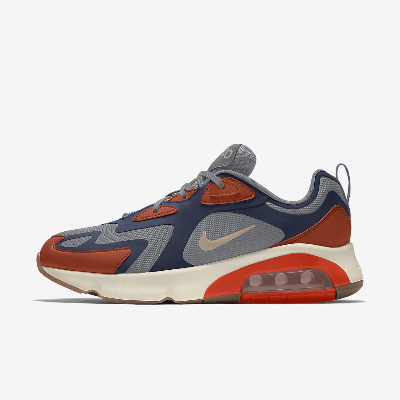 รองเท้าผู้หญิงออกแบบเอง Nike Air Max 200 By You