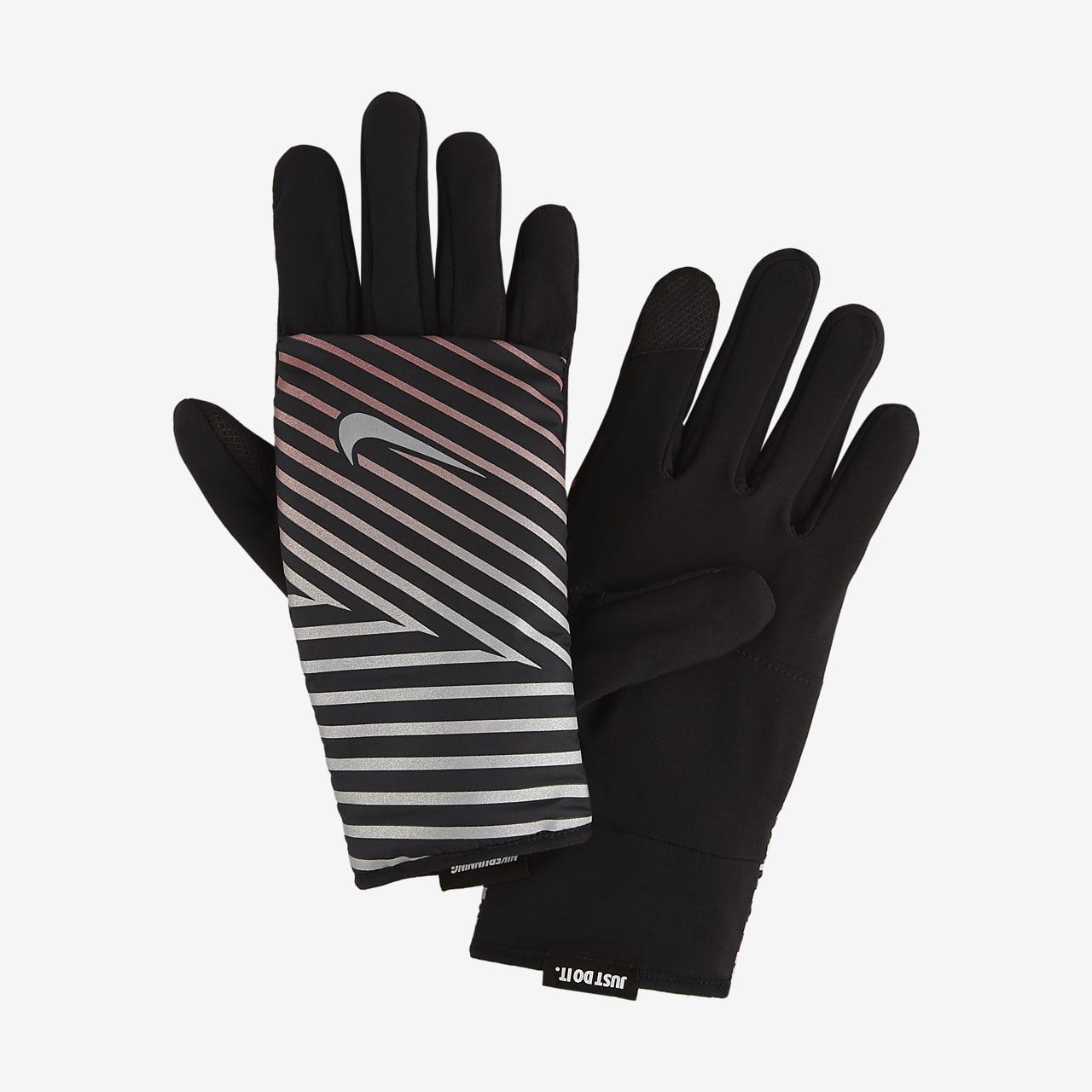 Damskie rękawiczki do biegania Nike Flash Quilted