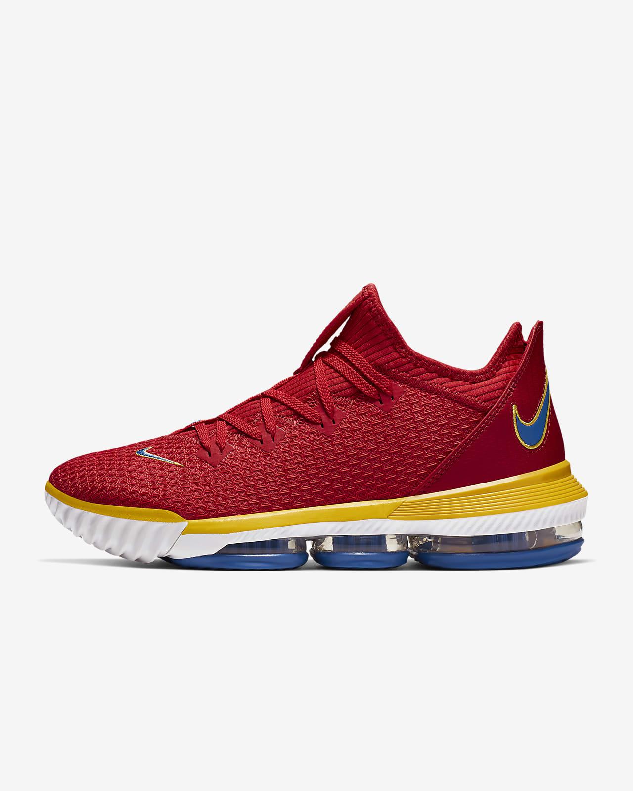 Adaptado En el piso Suplemento  Calzado de básquetbol para hombre LeBron XVI Low. Nike CL