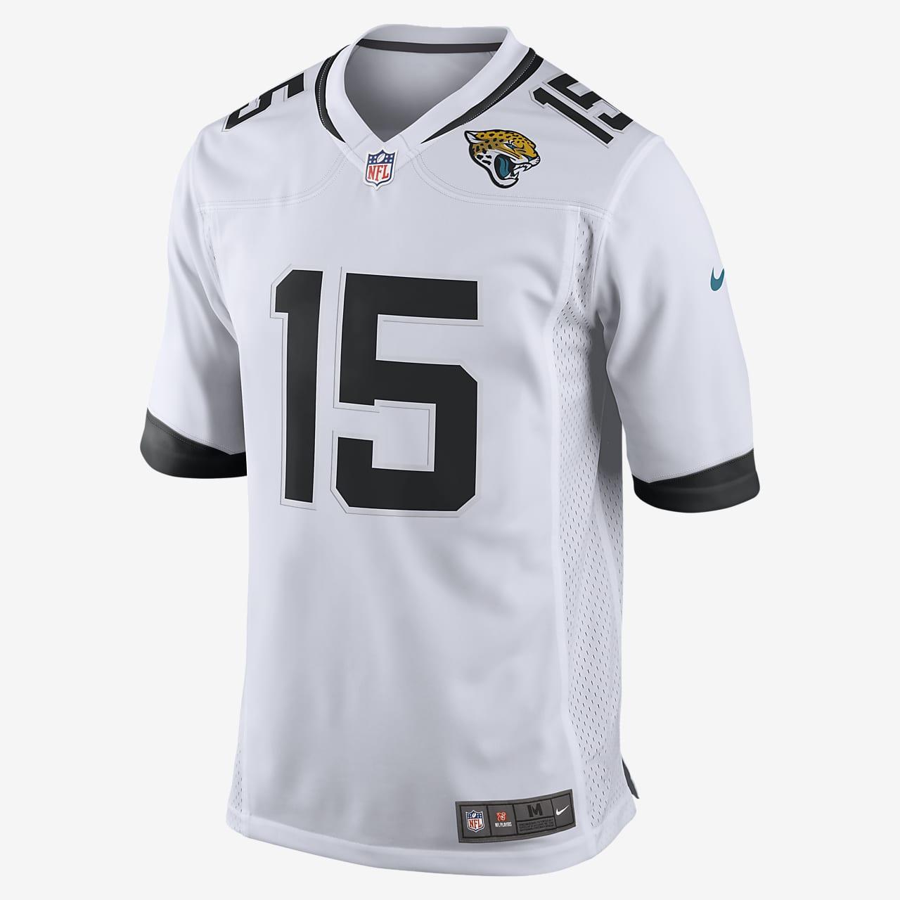 NFL Jacksonville Jaguars (Gardner Minshew) Men's Game Football Jersey