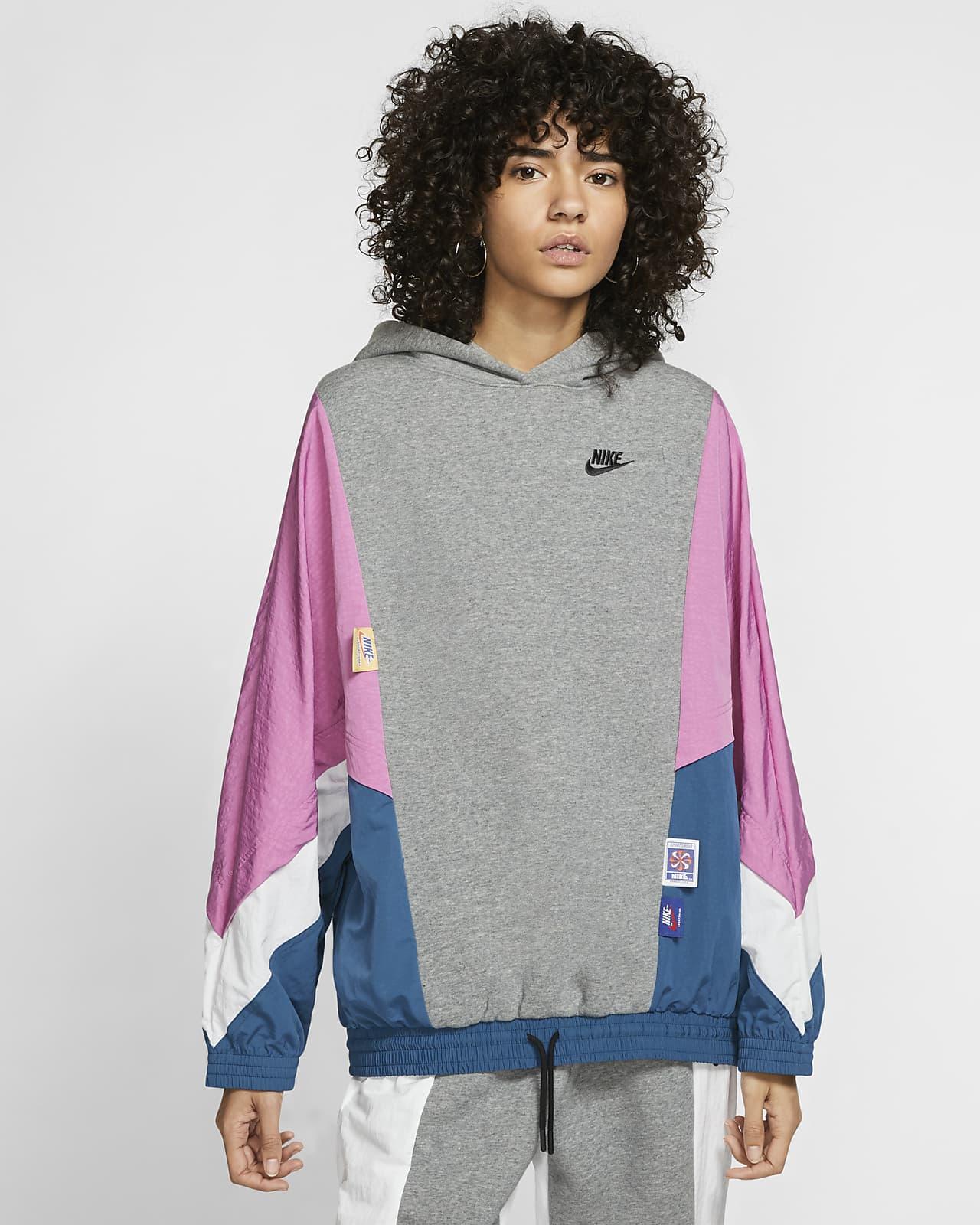 Mikina s kapucí Nike Sportswear Icon Clash