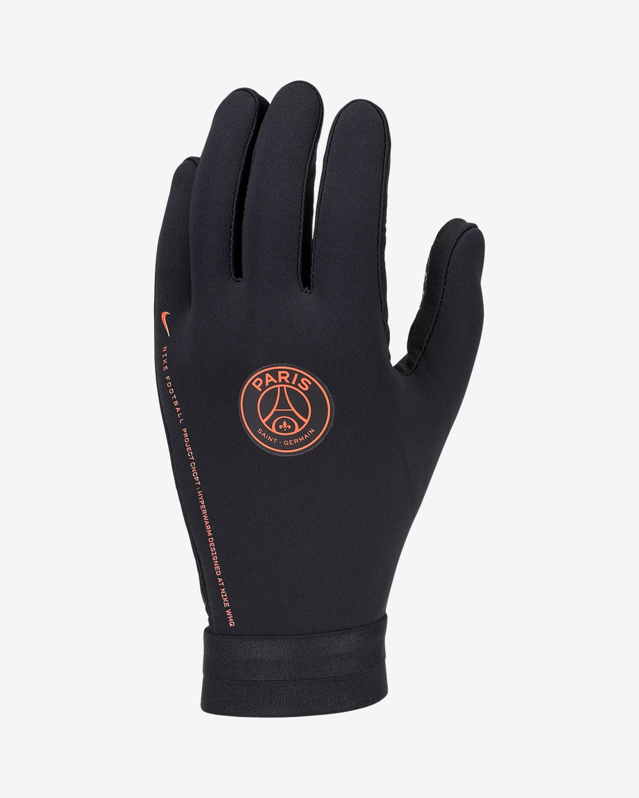 Rękawice piłkarskie Paris Saint-Germain HyperWarm Academy