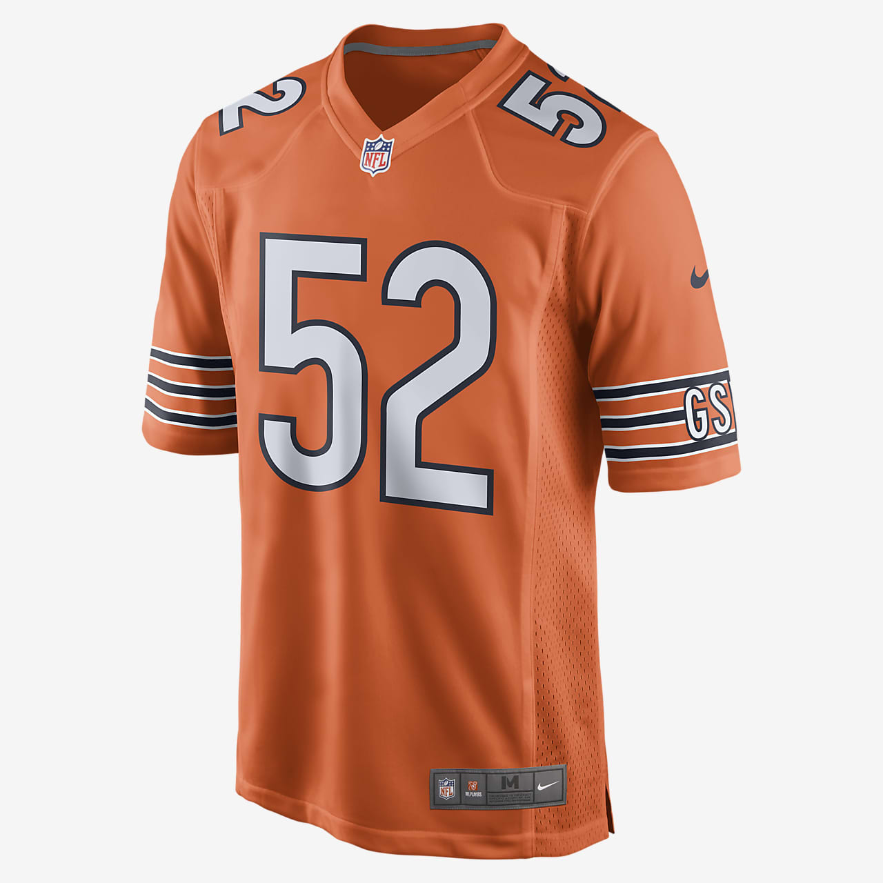 NFL Chicago Bears Game Jersey (Khalil Mack) Men's Football Jersey
