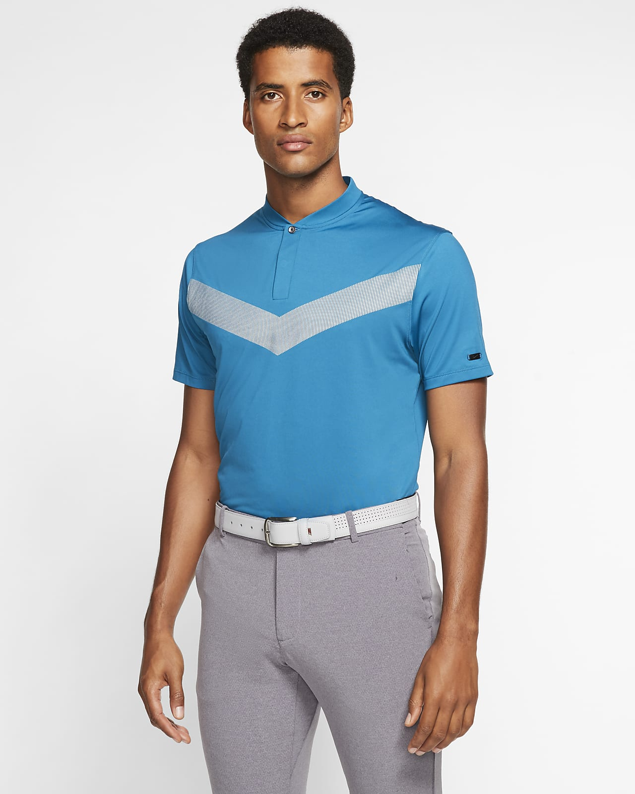 Polo de golf para hombre Nike Dri-FIT Tiger Woods Vapor