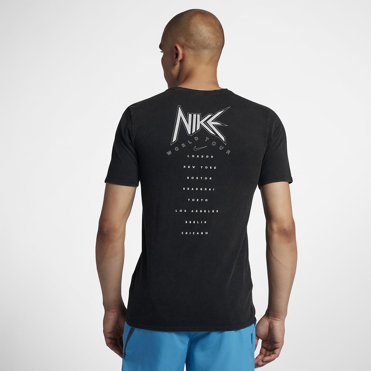 nike running tshirt