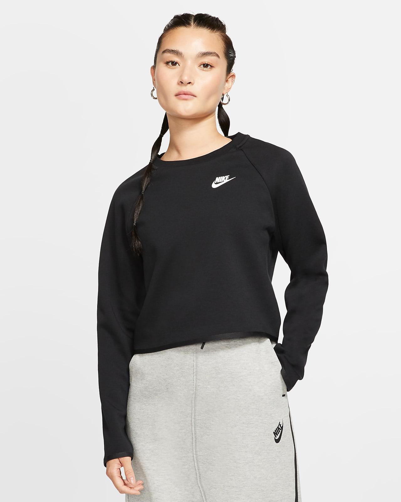 Nike Sportswear Tech Fleece 女子圆领上衣