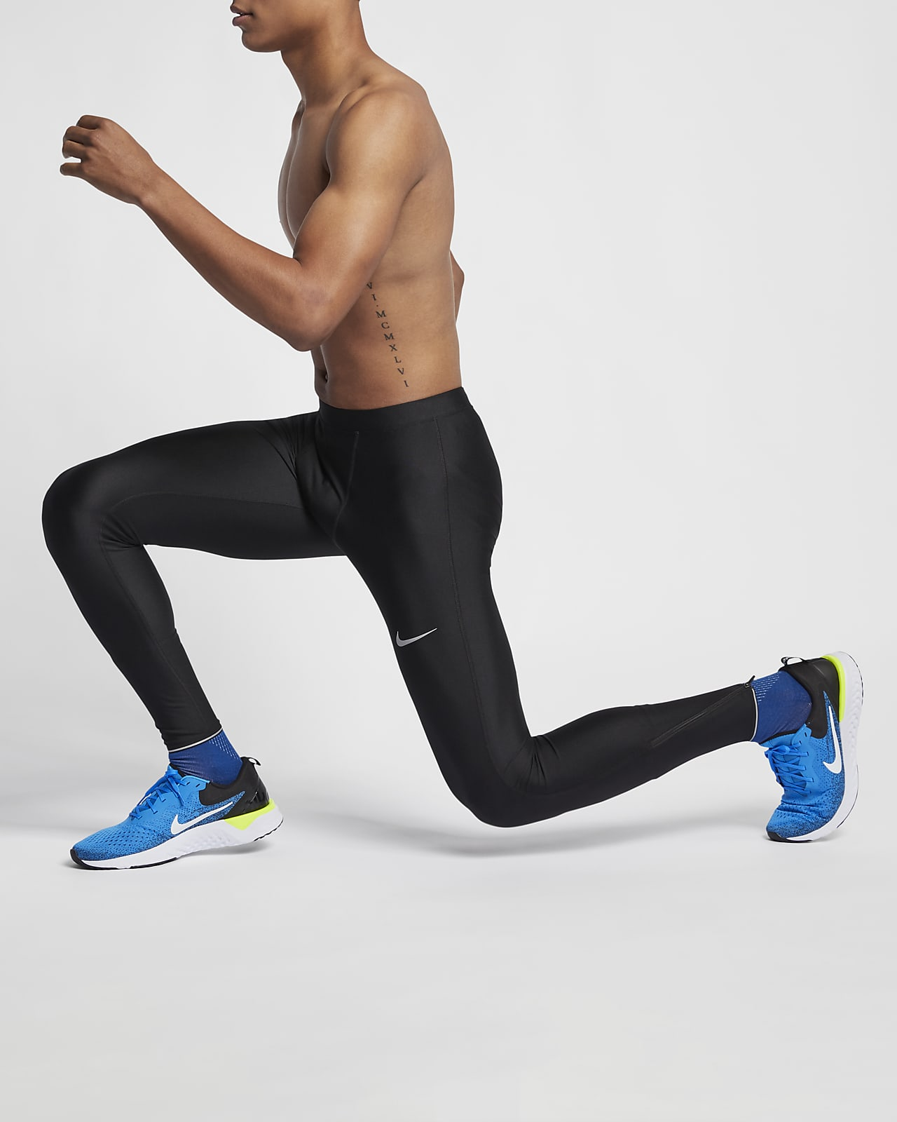 Nike 男子跑步紧身裤