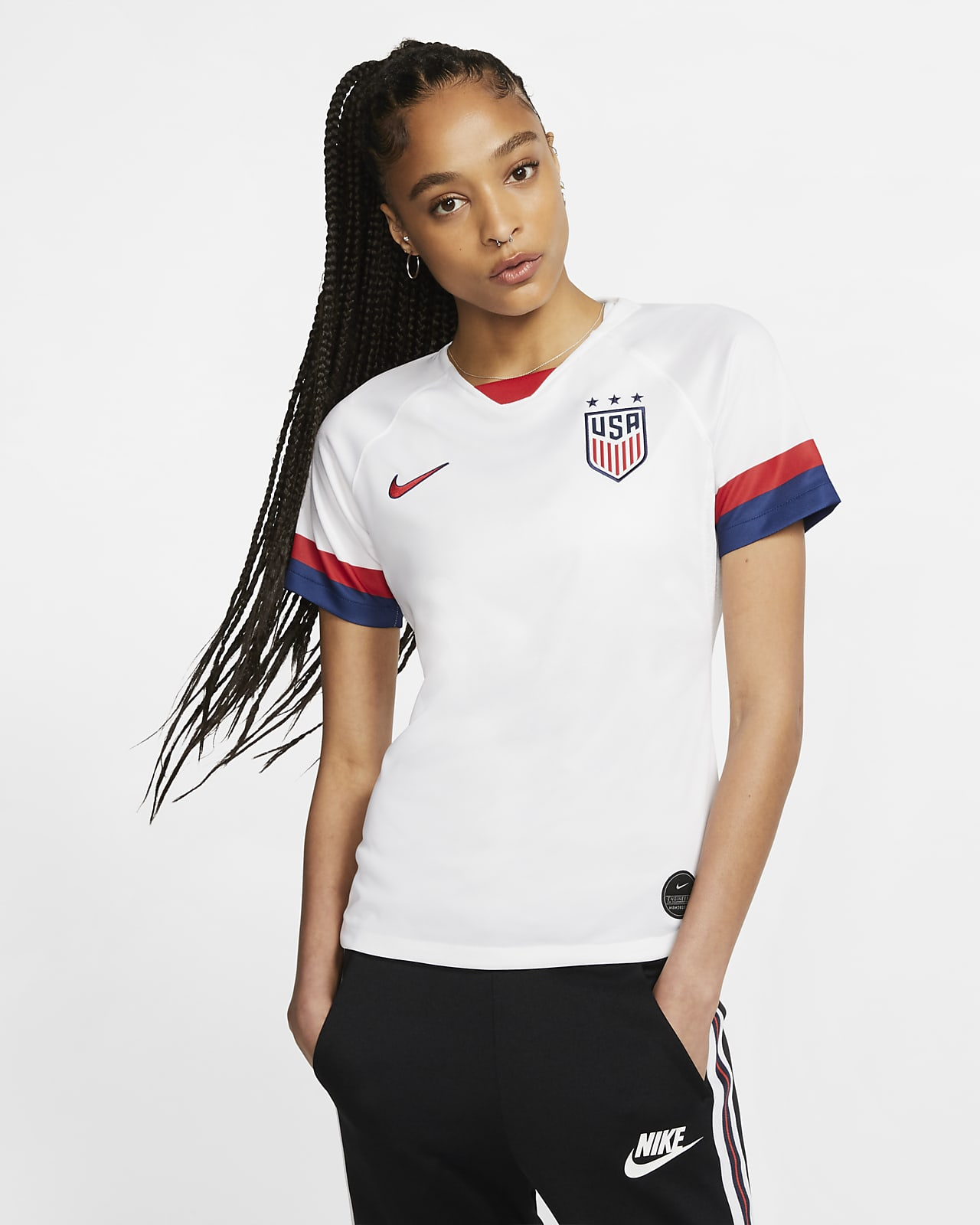 U.S. 2019 Stadium Home Camiseta de fútbol - Mujer