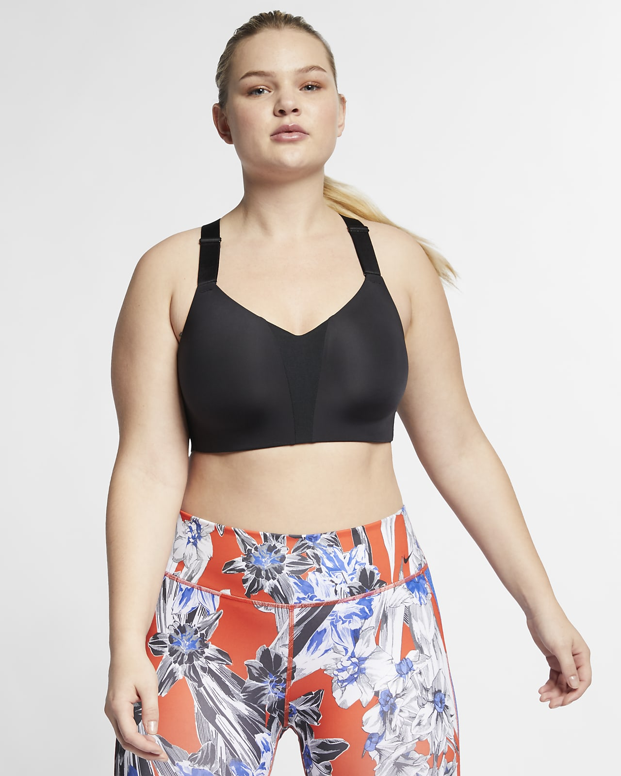 Nike Dri-FIT Rival Women's High-Support Underwire Sports Bra (Plus Size)