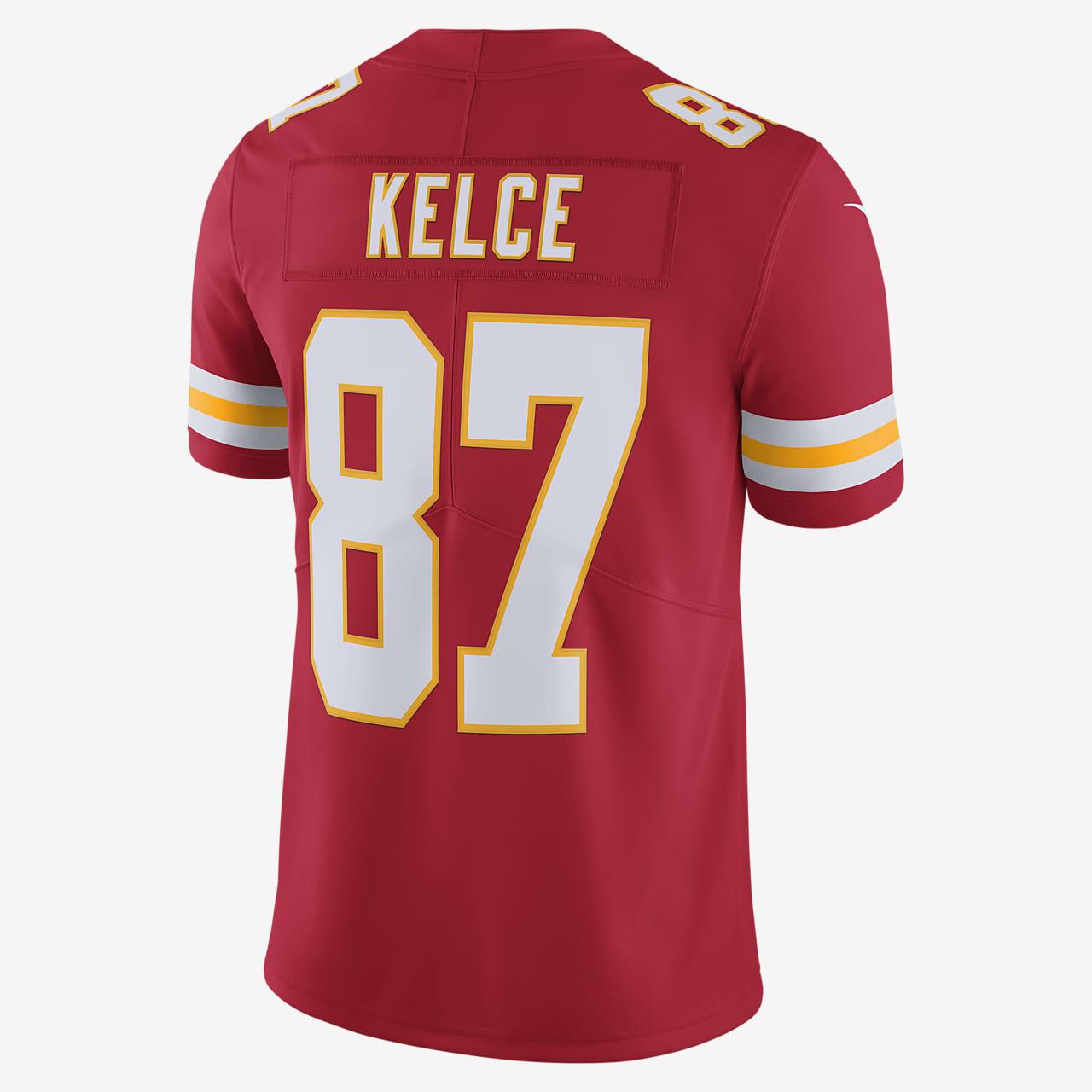 NFL Kansas City Chiefs Limited (Travis Kelce) Men's Football Jersey