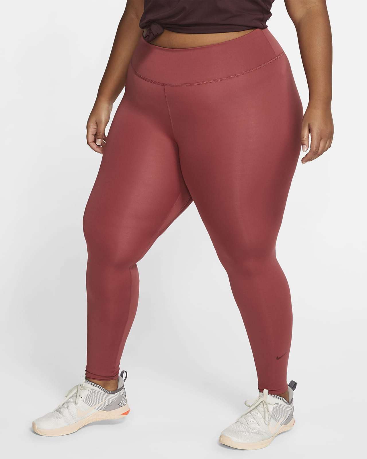 Tight Nike One Luxe pour Femme (grande taille) mannequin grande taille Nike