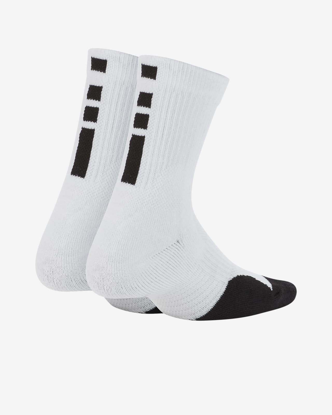Nike Dri-FIT Elite Little Kids' Crew Socks (2 Pairs)