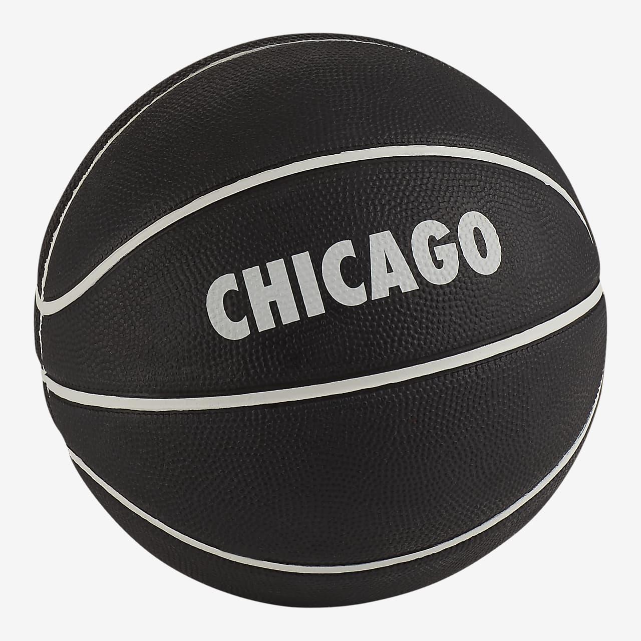 Balón de básquetbol (tamaño 3) Nike Skills Chicago