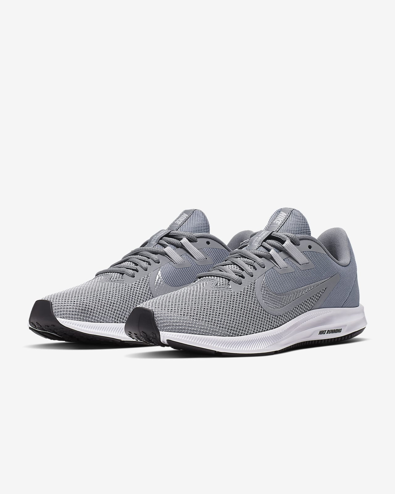 nike white gray shoes