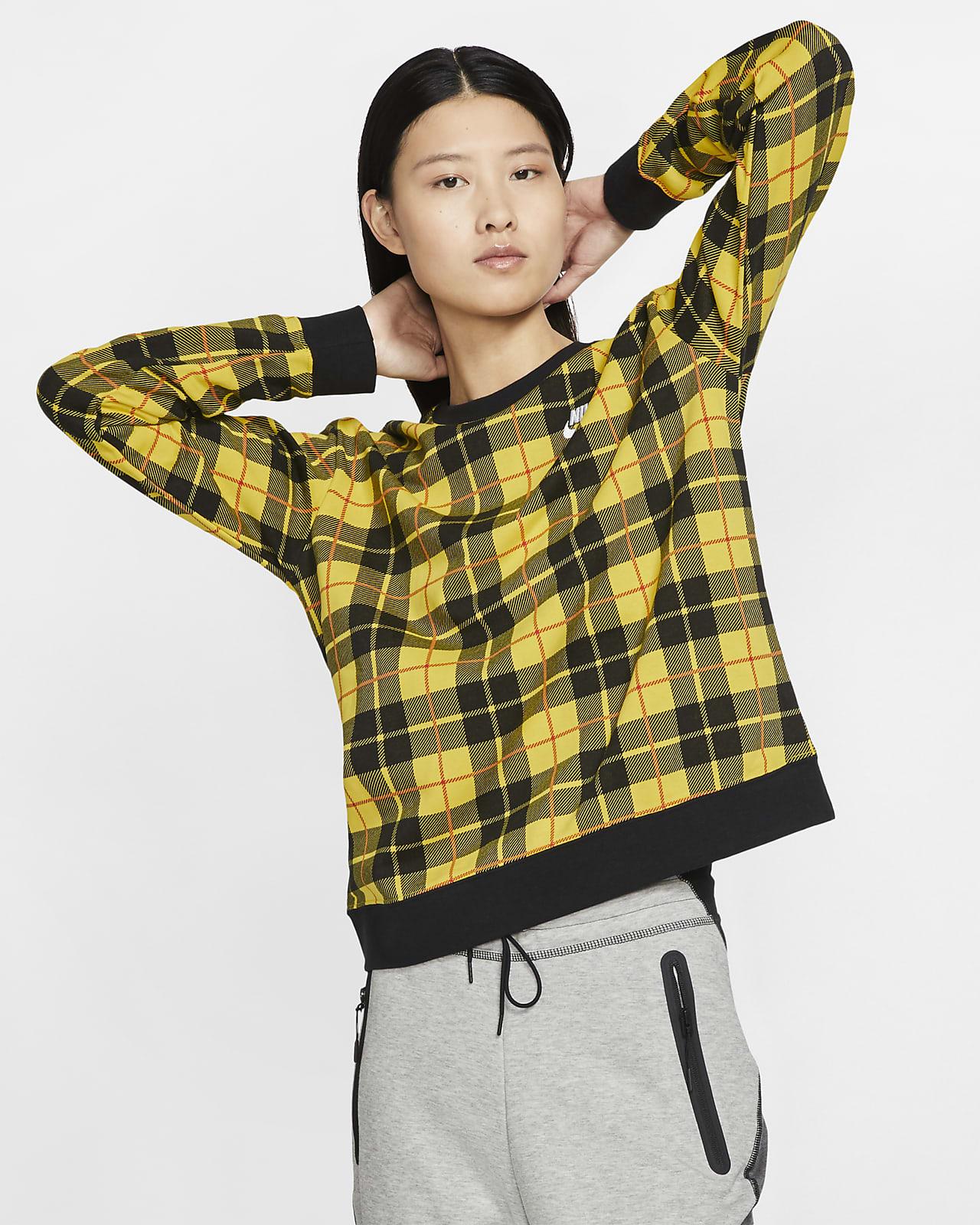 Nike Sportswear 女子印花针织圆领上衣