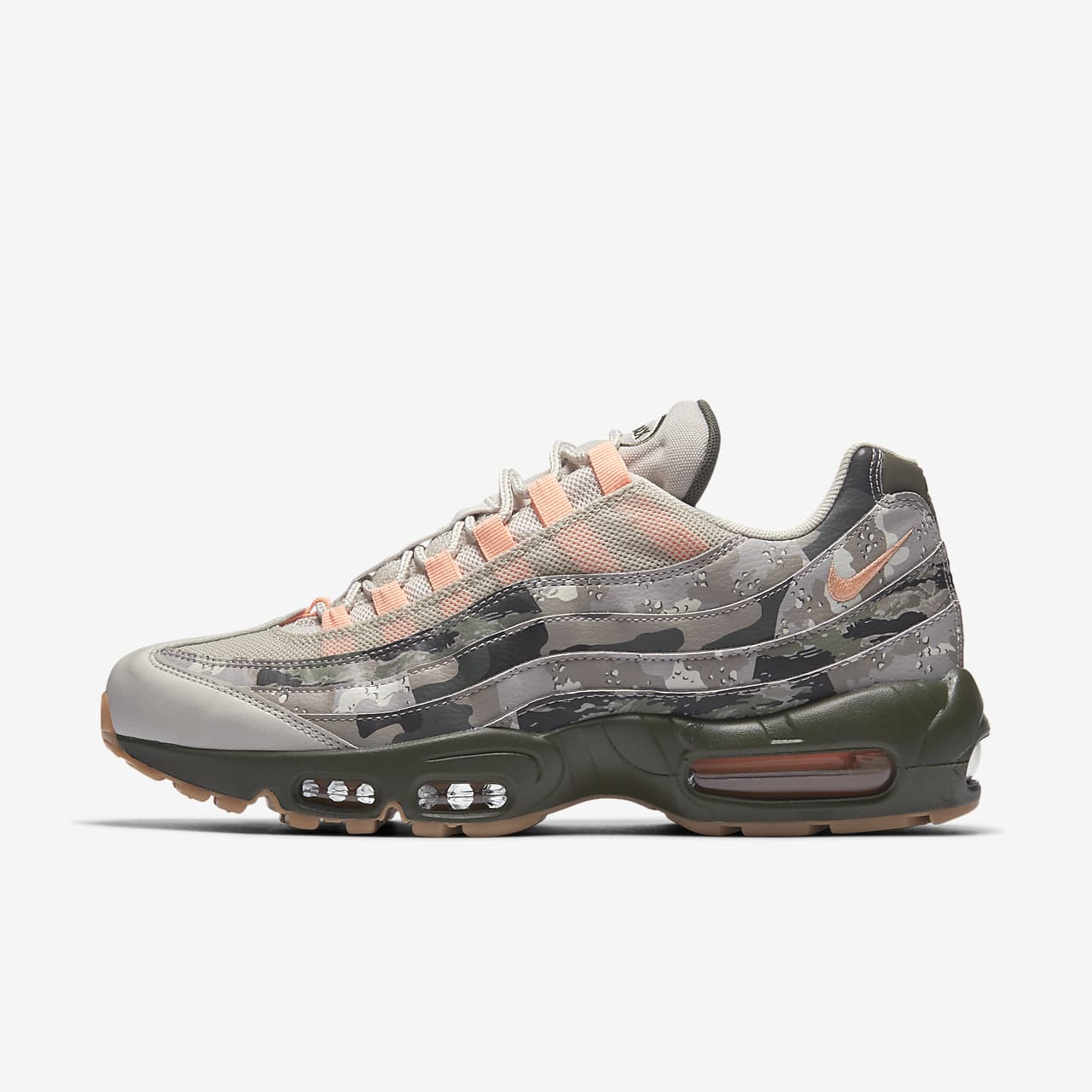 Nike Air Max 95 Essential Camo Men's Shoe