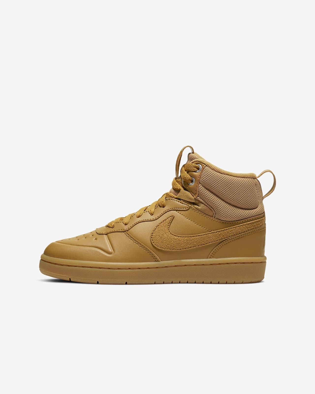 Nike Court Borough Mid 2 Boot (GS) 大童运动童鞋