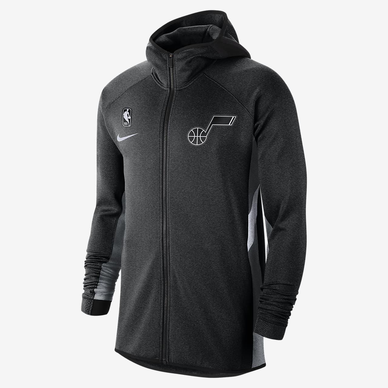Utah Jazz Nike Therma Flex Showtime Men's NBA Hoodie