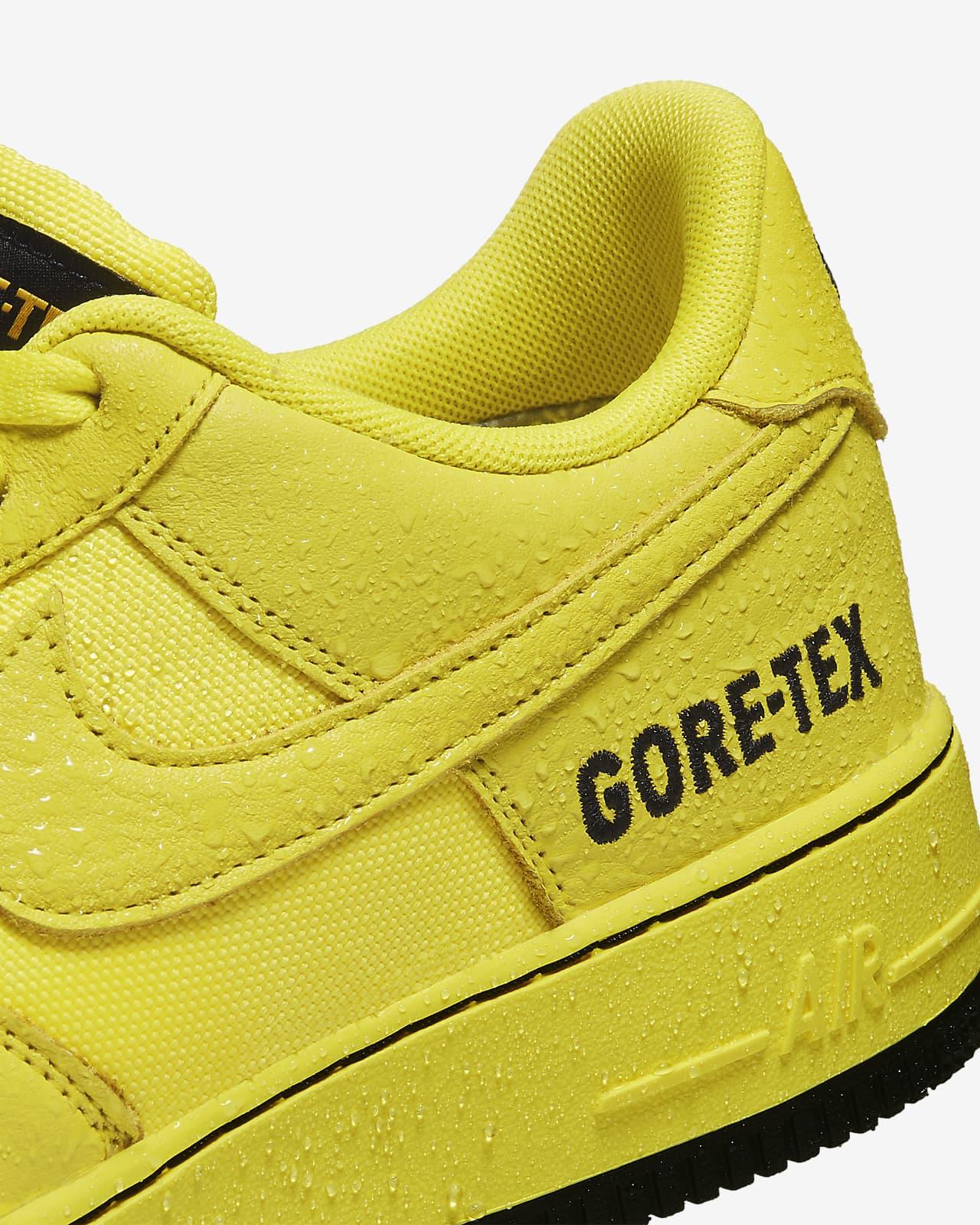 air force 1 goretex gialle