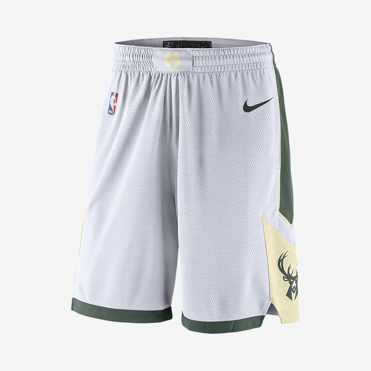Milwaukee Bucks Men's Nike NBA Swingman Shorts