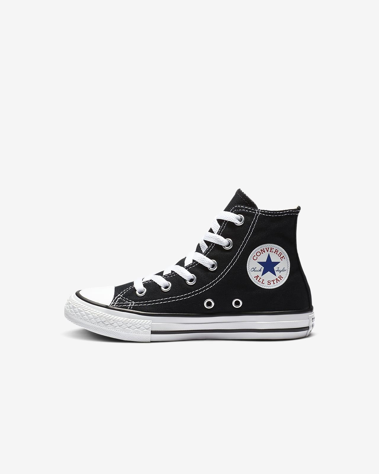 galón Corresponsal O cualquiera  Calzado para niños talla pequeña Converse Chuck Taylor All Star High Top.  Nike.com