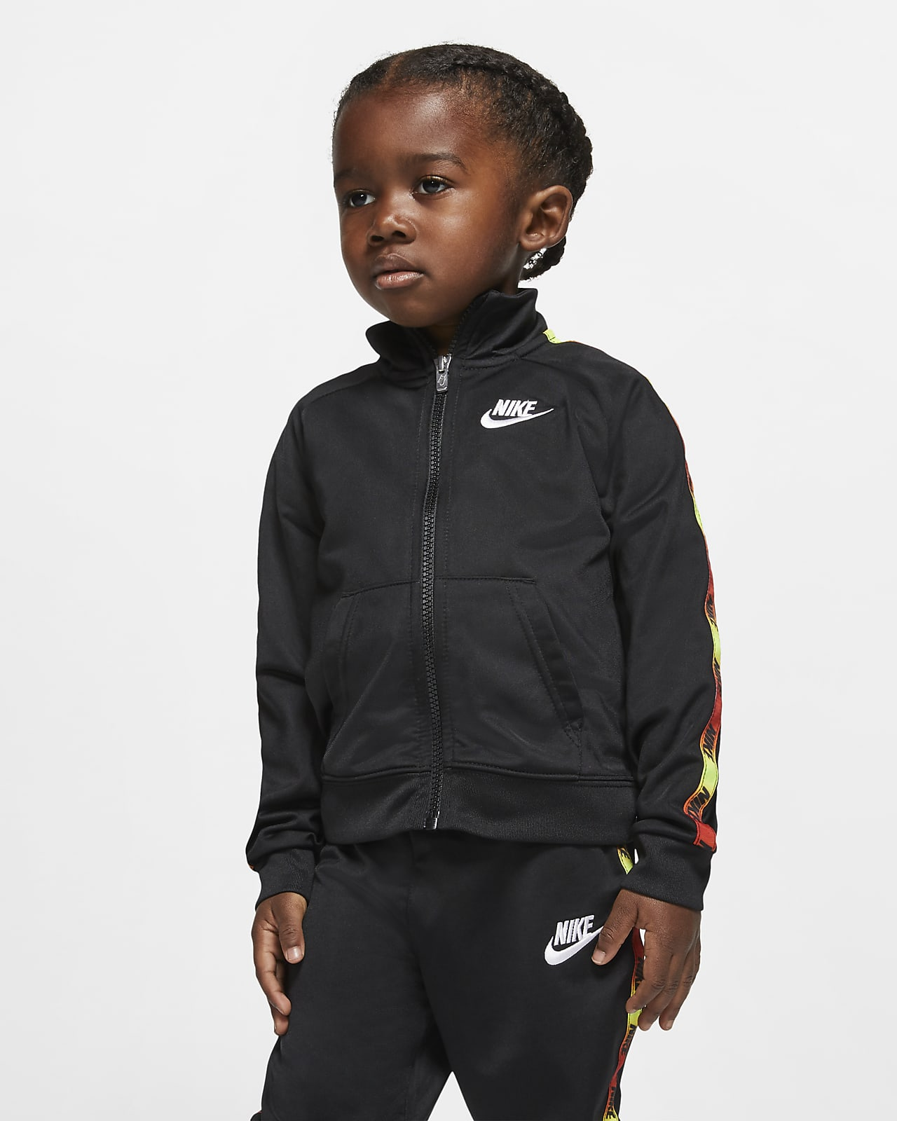 Set med jacka och byxor för små barn Nike. Nike SE