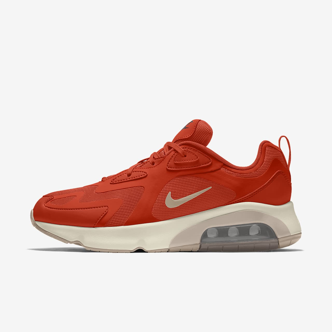 Chaussure personnalisable Nike Air Max 200 By You pour Femme