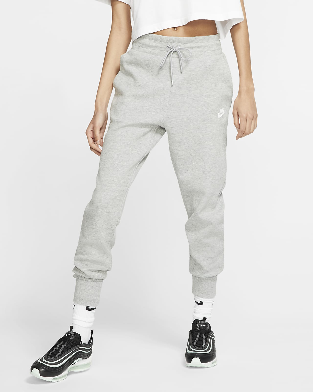 nike byxor grå