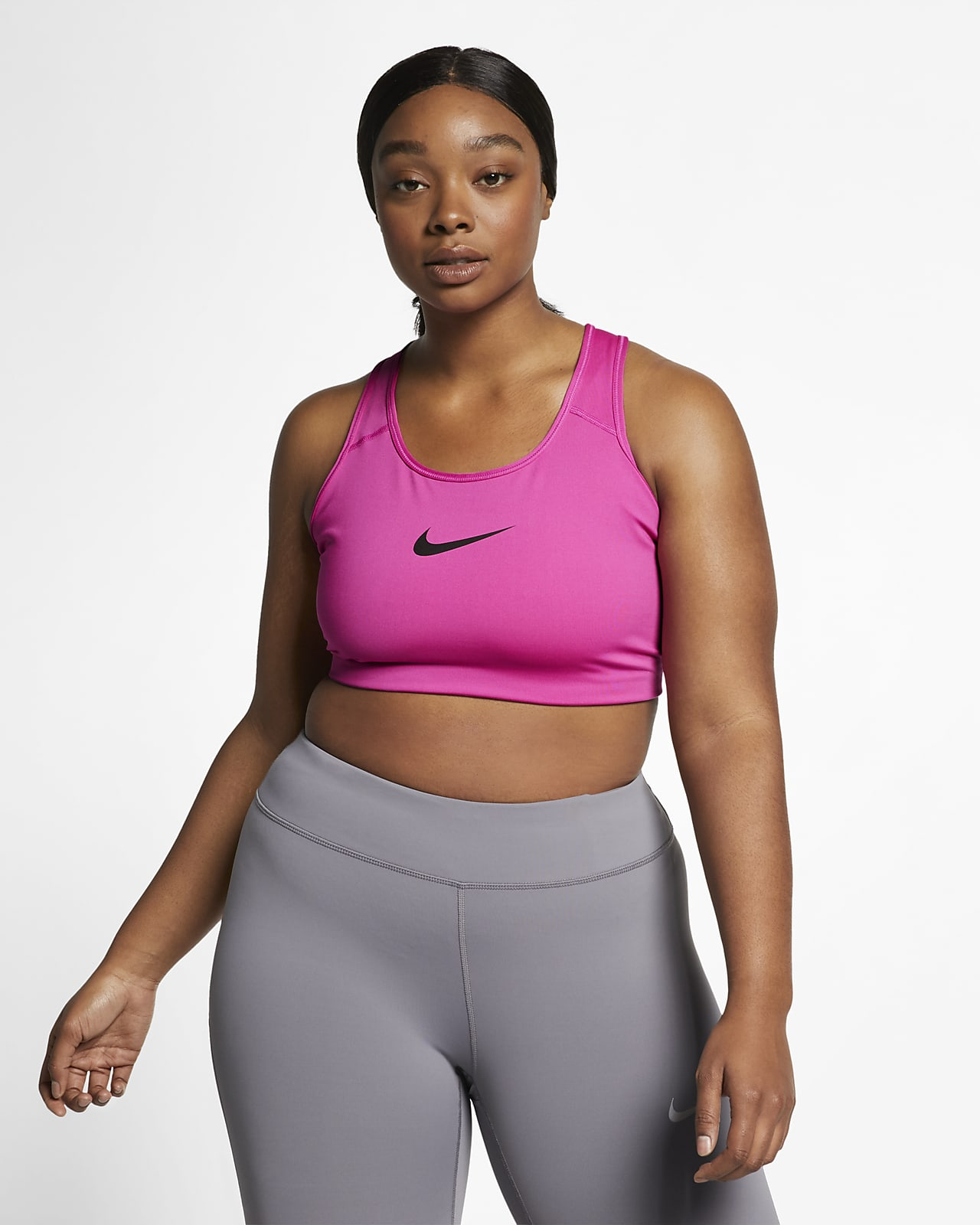 Nike Swoosh Women S Medium Support Non Padded Sports Bra Plus Size Nike Com