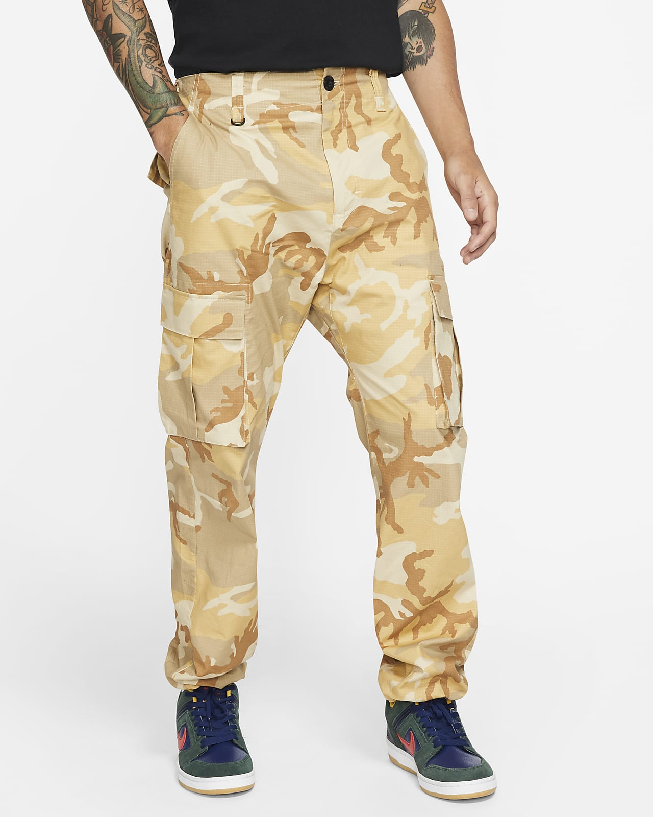 Nike SB Flex FTM Men's Camo Skate Cargo Pants