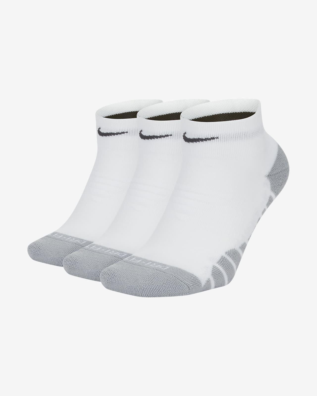 Calcetines cortos de entrenamiento para mujer Nike Everyday Max Cushion (3 pares)