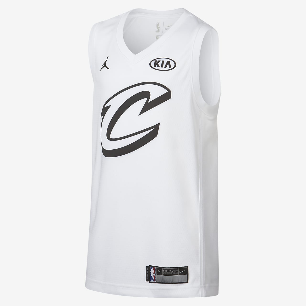 LeBron James All-Star Edition Swingman Jersey Older Kids' Jordan NBA Connected Jersey
