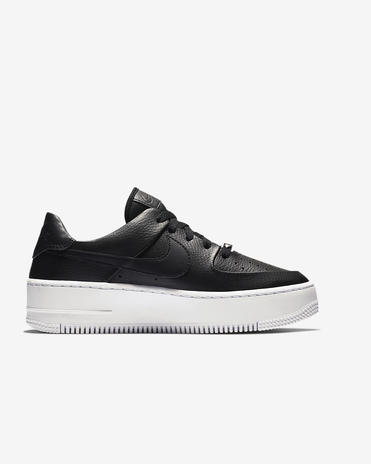 air force 1 donna nera