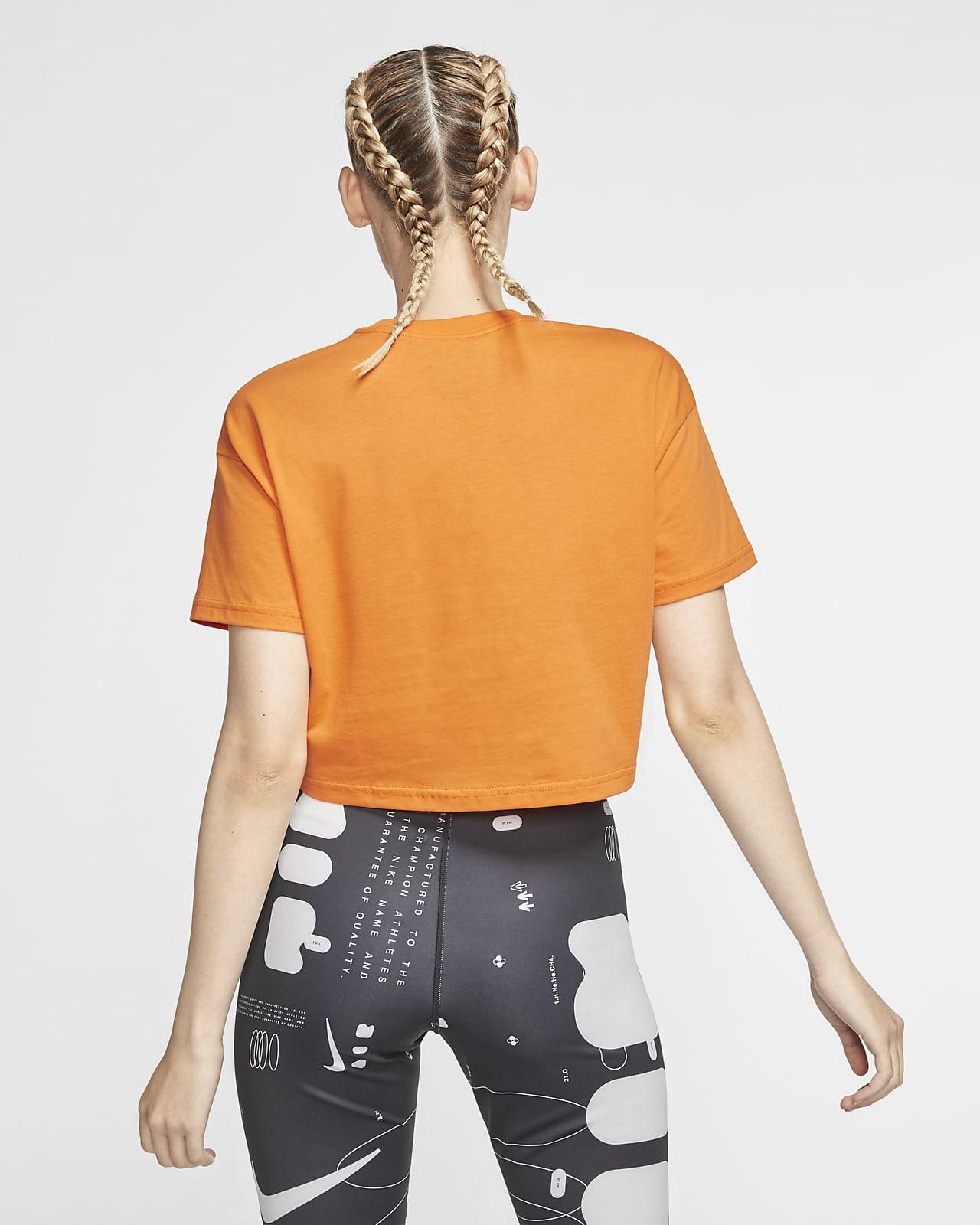 Nike Sportswear Crop Top Donna Arancione