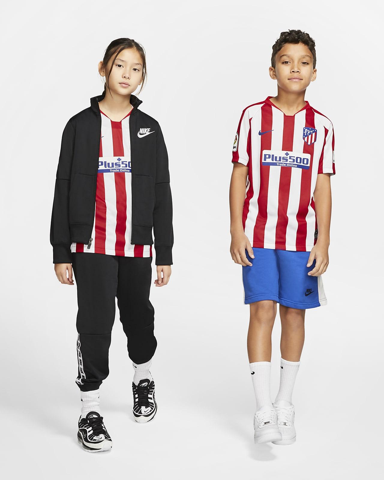 Fotbollströja Atlético de Madrid 2019/20 Stadium Home för ungdom