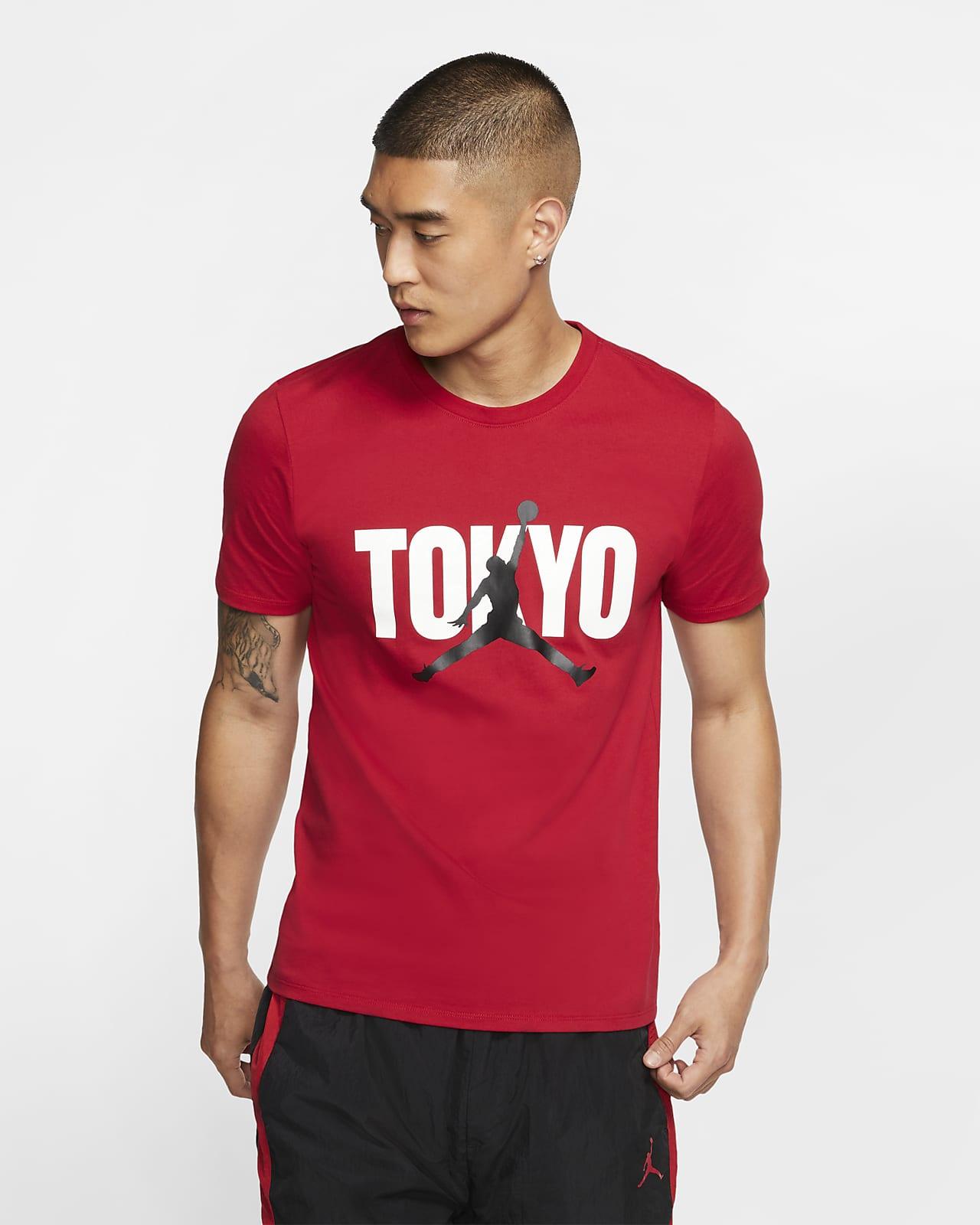 ジョーダン バック イン TOKYO メンズ Tシャツ