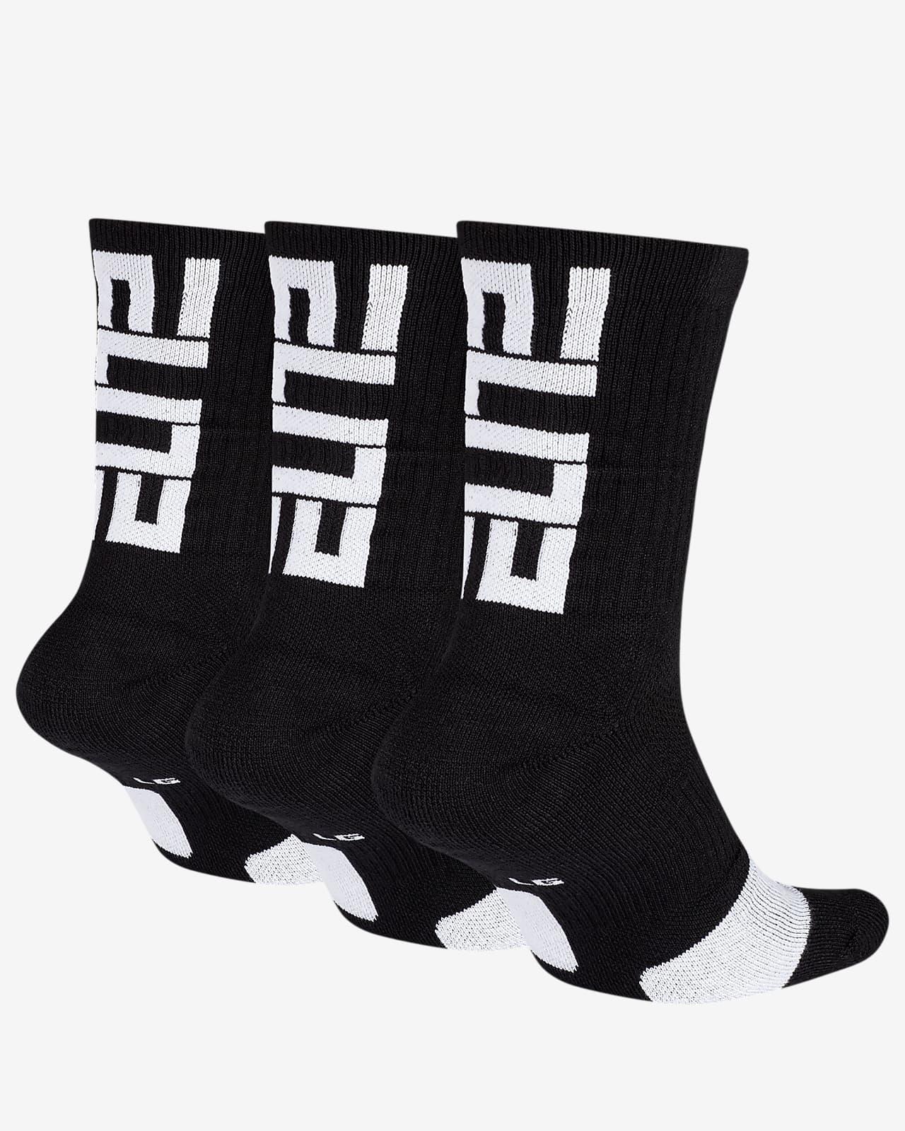 Nike Elite Basketball Crew Socks (3