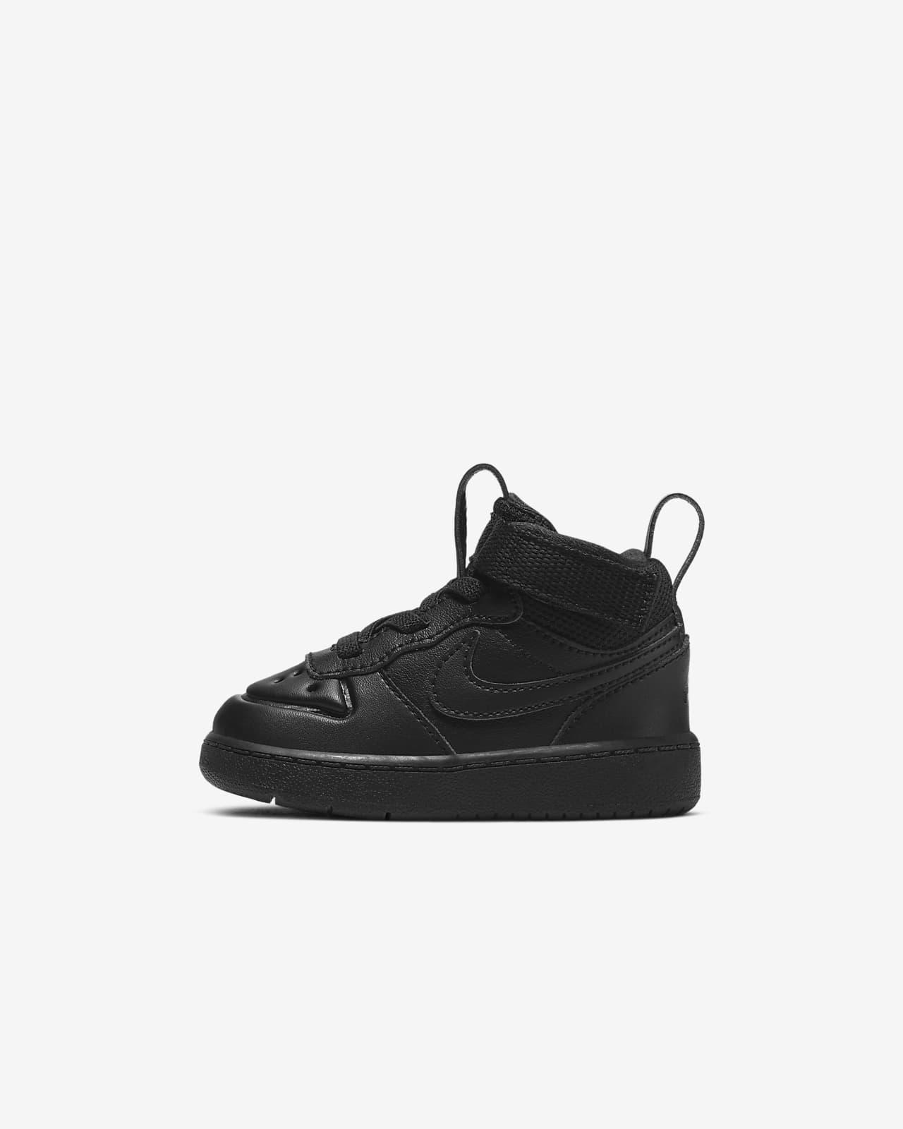 Nike Court Borough Mid 2-støvle til babyer/småbørn