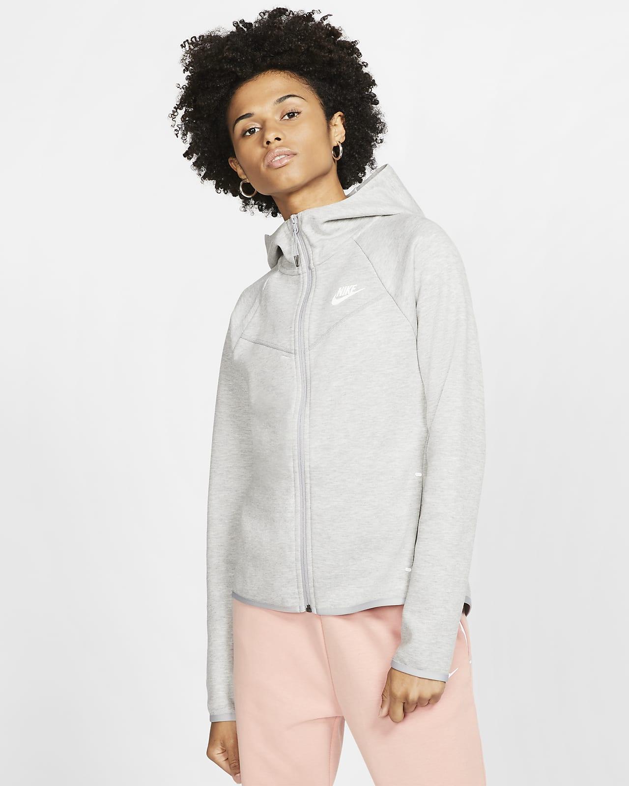 Sweat à capuche à zip Nike Sportswear Windrunner Tech Fleece pour Femme