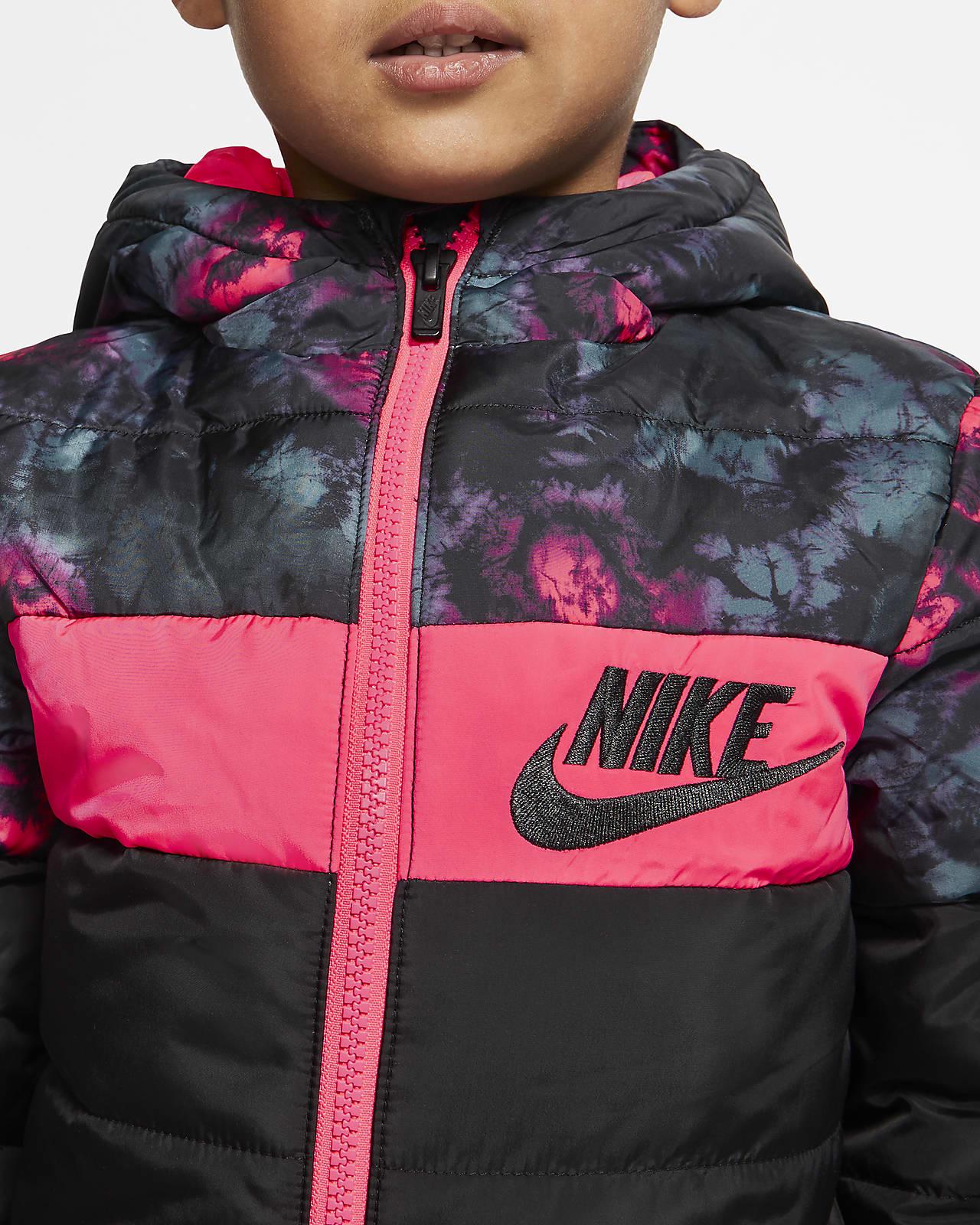 Dunjacka Nike Sportswear med hel dragkedja för små barn. Nike SE