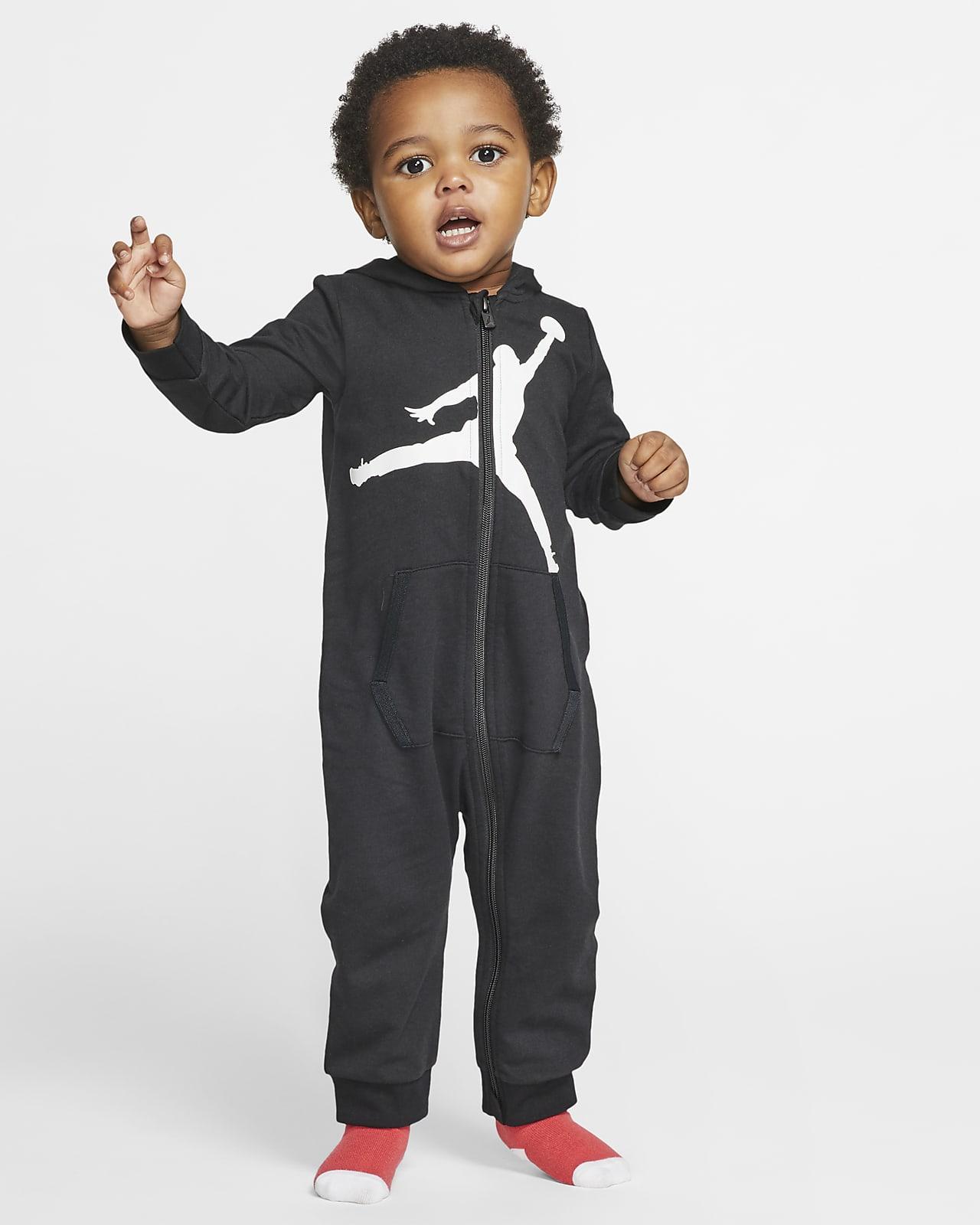 Jordan Jumpman Baby (12–24M) Full-Zip Hooded Overall