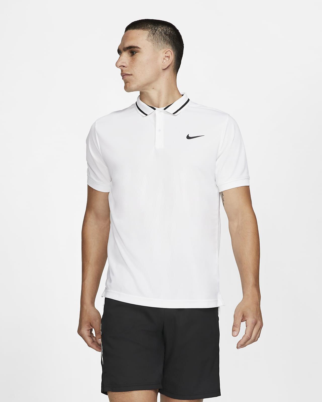 Мужская теннисная рубашка-поло NikeCourt Dri-FIT