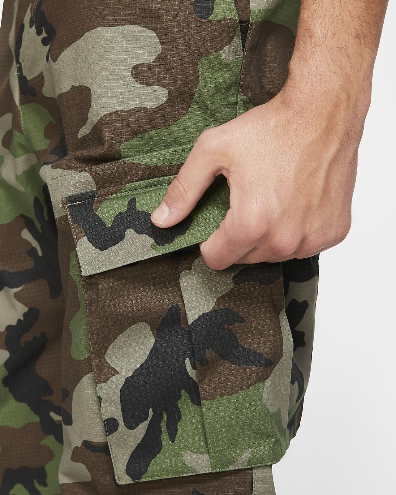 Pantalones Cargo De Skateboard Camuflados Para Hombre Nike Sb Flex Ftm Nike Cl
