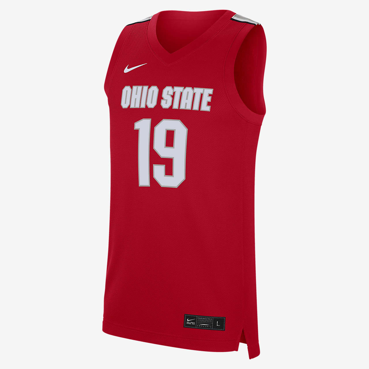 Nike College Replica (Ohio State) Men's Basketball Jersey