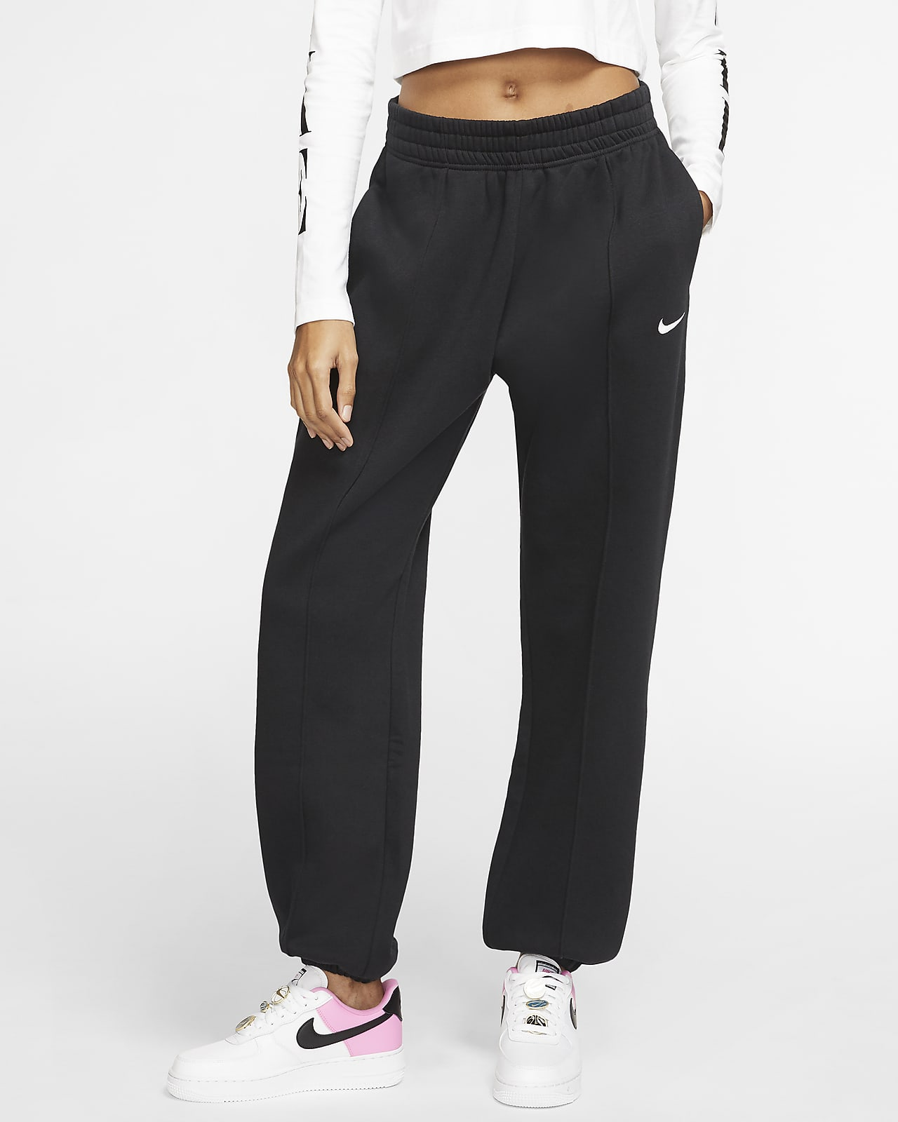 Nike Sportswear Essential Collection Pantalón de tejido Fleece - Mujer